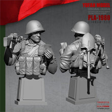 Load image into Gallery viewer, YUFan Model 1/18 Resin bust Gunman  Resin soldier kits YFWW-2020