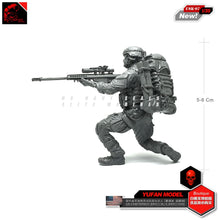 Load image into Gallery viewer, Yufan Model 1/35 Modern Us Seal Blocking Soldier Resin Model Suit Model Kit Usk-07