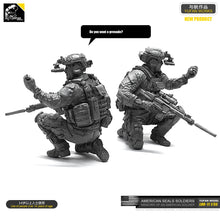 Load image into Gallery viewer, Yufan  Model 1/35 Figure Model Kit U.s. Seals Resin Soldier Unmounted Loo-11