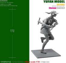 Load image into Gallery viewer, Yufan Model Originally 1/18 Figure Running Elves Eat Chicken To Resin Soldier YFWW-1816