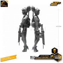 Load image into Gallery viewer, 1:35 Japanese Maiden American Equipments Resin Scale Figure NAI-14 - Yufan Models Store
