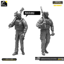 Load image into Gallery viewer, Yufan Model 1/35 Figure Model Kit  U.s. Seals Resin Soldier Unmounted Loo-25