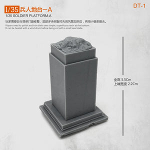 new 1/35 Soldier Platform -a  Model 5CM Uncolored Dt-1