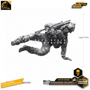 1:35 US Modern Special Forces Soldier Resin Scale Figure NAI-25 - Yufan Models Store