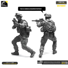 Load image into Gallery viewer, 1/35 Resin Kits Figure US Navy Seal Commander Resin Soldier Self-assembled LOO-34