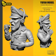 Load image into Gallery viewer, Yufan Model 1/35 Resin Soldier Q version Figure Model Kits Yfww-2016