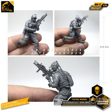 Load image into Gallery viewer, Yufan Model 1/35 Figure Model Kits Resin Soldier Model For Modern American Seals  Nai-17