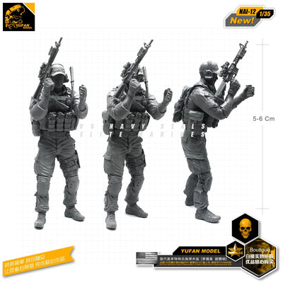 1:35 Modern US Special Forces Operator Scale Resin Figure NAI-12