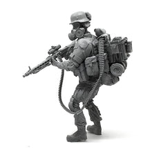 Load image into Gallery viewer, 1:35 Post apocalypse Heavy MG 42 Machine Gunner Soldier Scale Resin Figure HONG-05 - Yufan Models Store