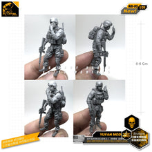 Load image into Gallery viewer, Yufan Model 1/35 Accessories Model Kits Modern American Commando Resin Soldier Model Figure Unmounted Nai-05