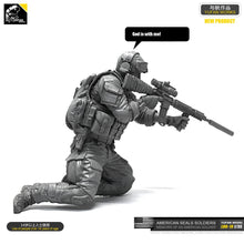 Load image into Gallery viewer, Yufan  Model 1/35 Figure Model Kit Resin Soldier Of Us Seal Commando Unmounted Loo-19