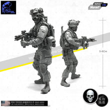 Load image into Gallery viewer, 1:35 US SEAL Special Forces Commando Soldier Resin Scale Figure TLP-01 - Yufan Models Store