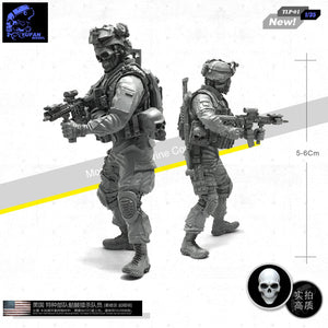 1:35 US SEAL Special Forces Commando Soldier Resin Scale Figure TLP-01 - Yufan Models Store
