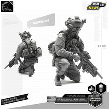 Load image into Gallery viewer, 1:35 US Navy Seal Full Euipment Soldier Resin Scale Figure SII-01 - Yufan Models Store