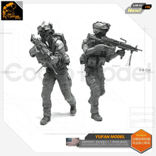 Load image into Gallery viewer, Yufan Model 1/35 Figure  Resin Soldier Modern Us Army Resin Model Devil Series LJH-05