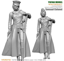 Load image into Gallery viewer, 1:18 WWII German Female Officers Resin Scale Figure YFWW-1813 - Yufan Models Store