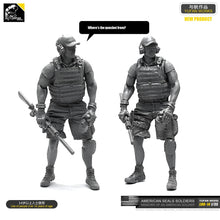 Load image into Gallery viewer, Yufan Model 1/35 Figure Model Kit Resin Soldier Of Us Seal Commando Unmounted Loo-14