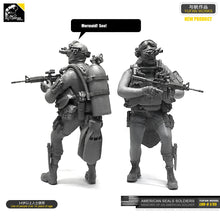 Load image into Gallery viewer, Yufan Model 1/35 Figure U.s. Seal Commando Water Ghost Resin Soldier Model Kit Unmounted Loo-06