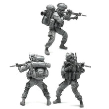 Load image into Gallery viewer, 1:35 Elite US Marines Soldier Scale Resin Figure AH-05 - Yufan Models Store