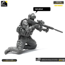 Load image into Gallery viewer, 1:35 Modern US Special Forces Soldier Resin Scale Figure LOO-19 - Yufan Models Store
