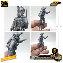 Cargar imagen en el visor de la galería, Yufan Model 1/35 Figure Resin Soldier Model Kits For Gas Mask Of Modern Us Special Forces   Self-assembled Nai-16
