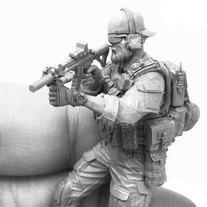 1:35 SUS pecial Forces Operator Soldier Resin Scale Figure A18-06 - Yufan Models Store