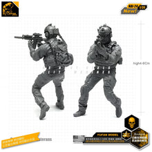 Load image into Gallery viewer, 1:35 Modern US Army Commando Soldier Resin Scale Model NAI-24 - Yufan Models Store