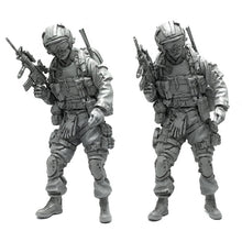 Load image into Gallery viewer, 1:35 US Army Special Forces Soldier Scale Resin Figure AH-15 - Yufan Models Store