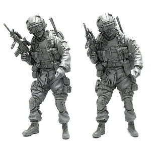 1:35 US Army Special Forces Soldier Scale Resin Figure AH-15 - Yufan Models Store