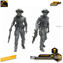 Load image into Gallery viewer, Yufan Model 1/35 Figure Kits Modern Resin Soldier Model  For Us Special Forces GK Accessories DIY Model Unmounted Nai-01