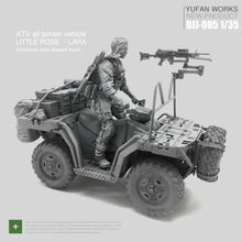 Load image into Gallery viewer, 1:35 Set US Army Female Driver and ATV Resin Scale Figure DJJ-05 - Yufan Models Store
