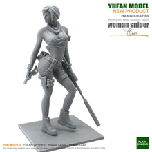 Load image into Gallery viewer, 1:24 US SEAL Team Sexy Female Sniper Resin Scale Figure YFWW-1842 - Yufan Models Store