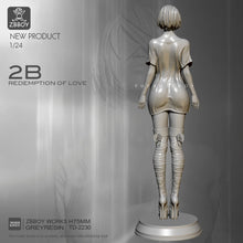 Load image into Gallery viewer, 1/24 Resin Figure Kits  Beauty 2B Model Self-assembled TD-2230