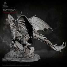 Load image into Gallery viewer, new Dragon resin model  Self-assembled  (119mm width) TD-2223