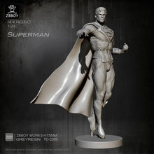 Load image into Gallery viewer, new 1/24 Resin Figure Kits Superman resin model Self-assembled TD-2269