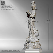 Load image into Gallery viewer, 1/24 Chinese ancietn female Resin model Northern Song Ladies ZBBOY TD-2512