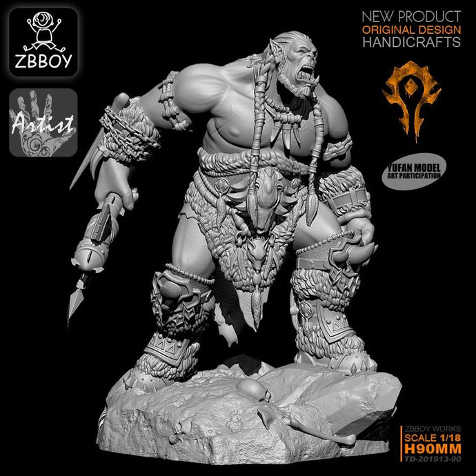 1/18 Resin  Figure Kits  self-assembled  (9CM) TD-201913-90