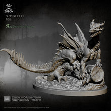 Load image into Gallery viewer, new Resin kit tree dragon model self-assembled TD-2216