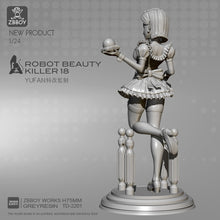 Load image into Gallery viewer, 1/24(75mm) Resin Figure Kits Artificial maid resin model self-assembled TD-2201