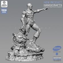 Load image into Gallery viewer, 1/24 Resin Figure Kits  Iron Man and Ultron resin Soldier Model self-assembled 75MM TD-202014