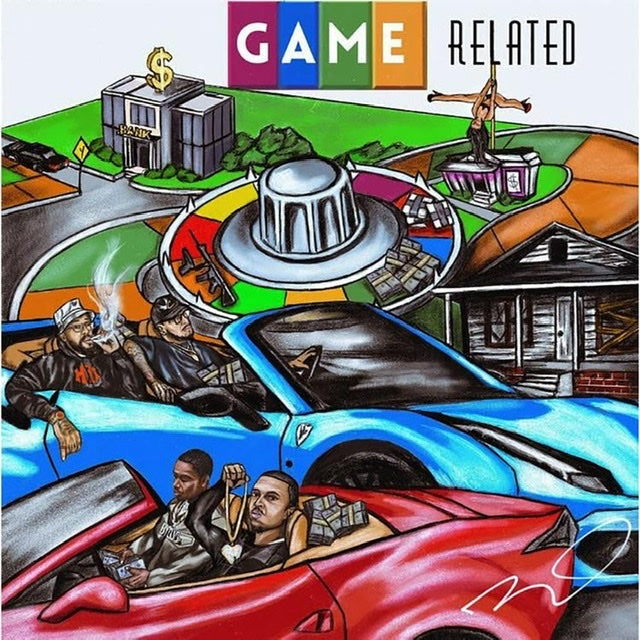 "CARDO RECRUITS LARRY JUNE & PAYROLL GIOVANNI FOR ""GAME RELATED"" EP"