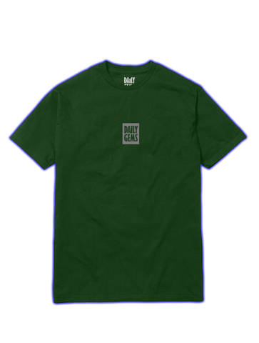 3M BOX LOGO TEE (FOREST)