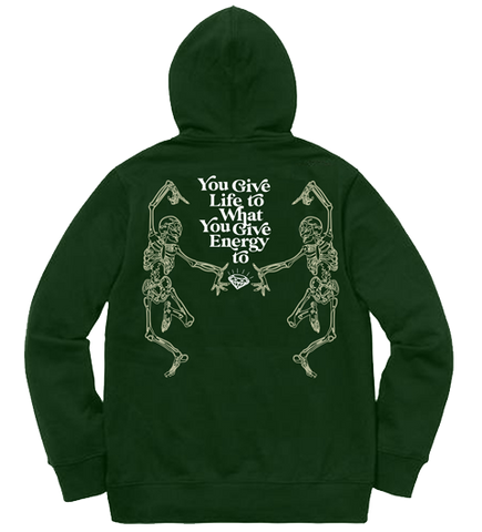 MORE LIFE HOODIE (FOREST GREEN)