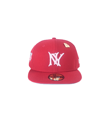 VVS SERIES NY FITTED (RED) LIMITED EDITION