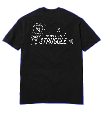 BEAUTY IN THE STRUGGLE BLM TEE