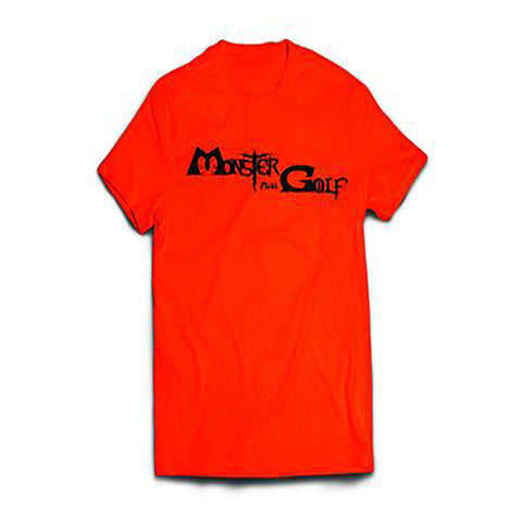 Neon Orange Monster Mini Golf T