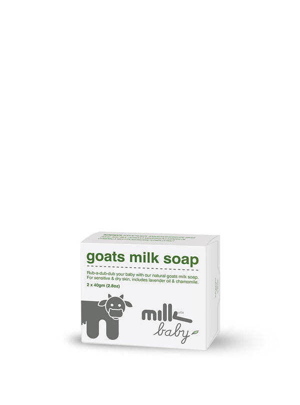 Goats Milk Soap For Baby - 2x 40gm