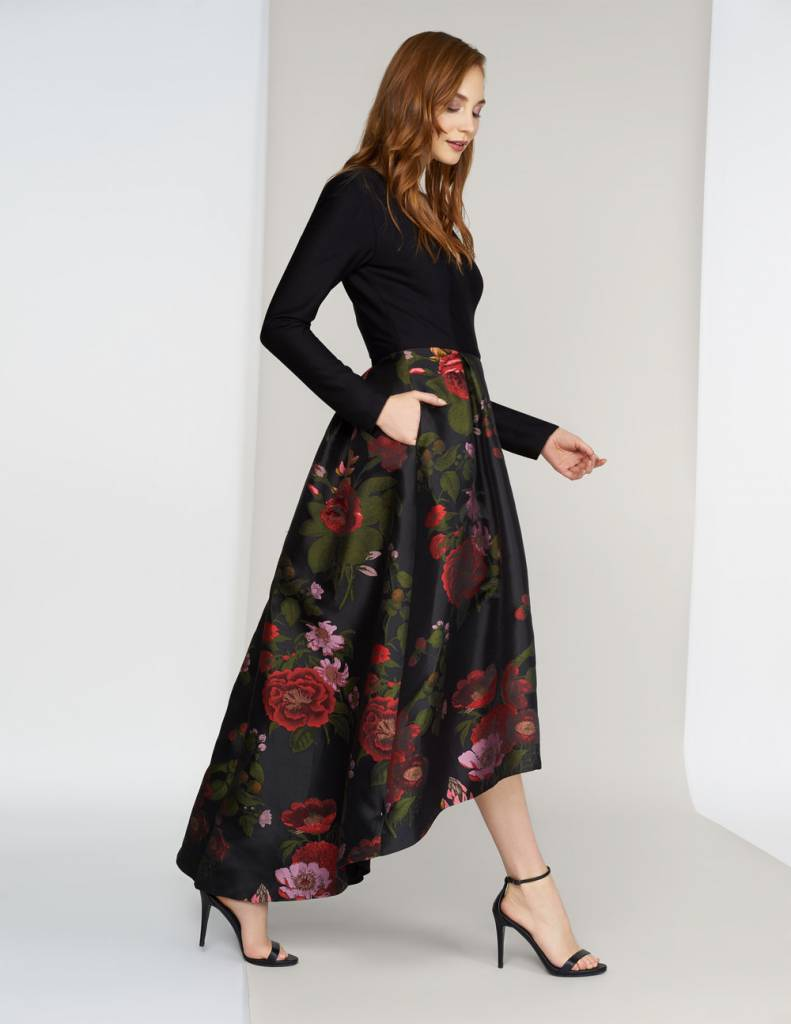 Marilyn Full Skirt Maxi Dress