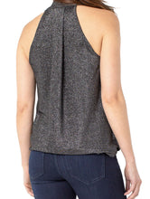 Load image into Gallery viewer, Draped Crossover Sleeveless Top