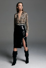 Load image into Gallery viewer, Madison Sequin Pencil Skirt